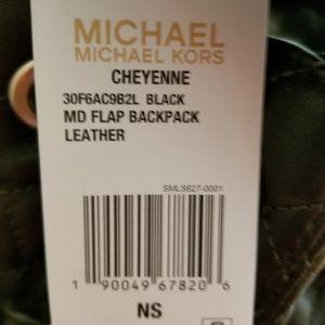 26504f658fea Michael Kors Bags - Michael Kors Cheyenne black quilted backpack